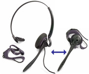 H141N Duoset headset w/noise cancelling feature