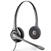 H261N SupraPlus Binaural / Dual Ear headset w/noise cancelling feature